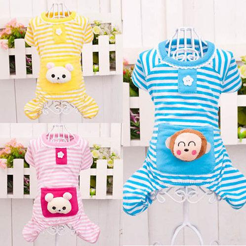 Cotton Stripes Pajamas