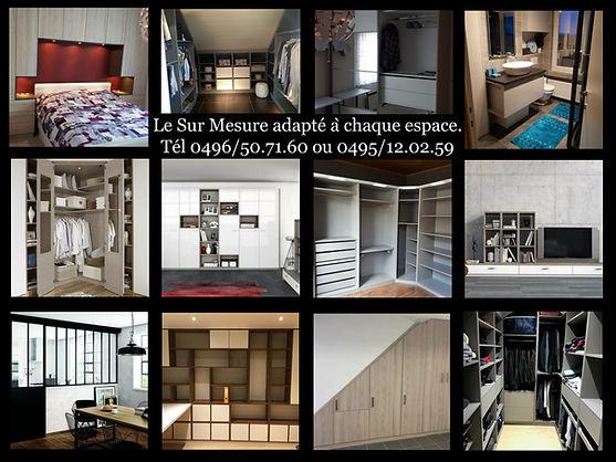 Meuble sur mesure, dressing, placards, meubl tv, placard sous escalier, verrière, porte d'atelier, dressing parental