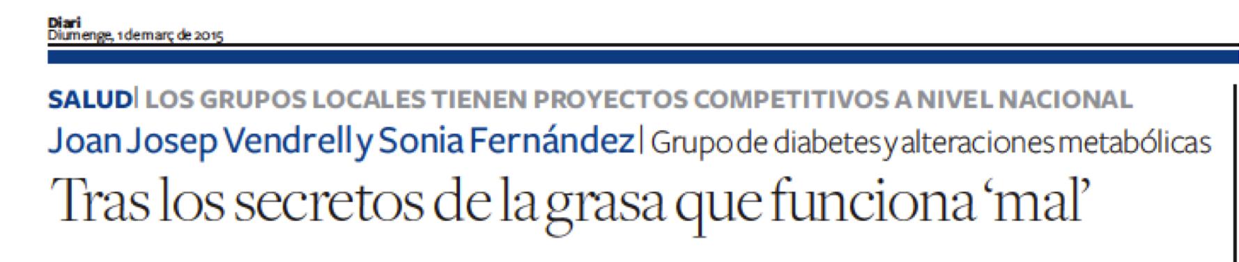 Diari de Tarragona, 01marzo2015