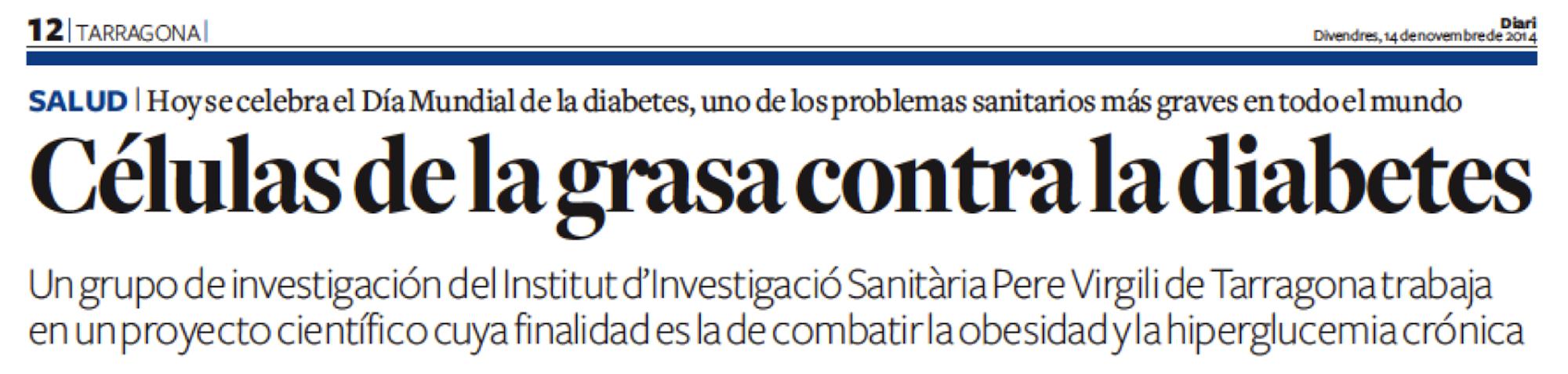 Diari de Tarragona, 14novembre2014