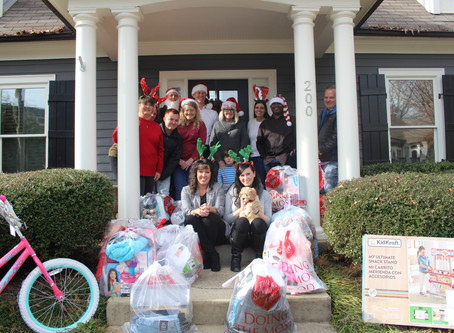 Peachtree Goes all in for Salvation Army Angel Tree!