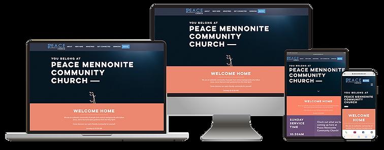 Summit Angel Website Design Reponsive Graphic