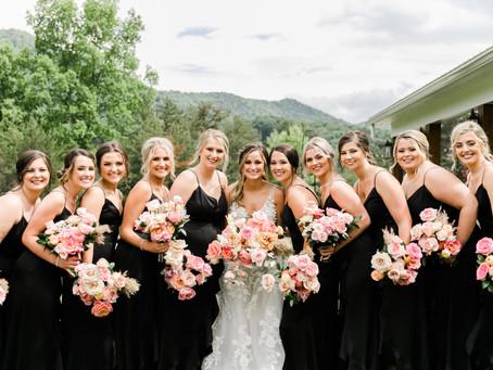 Kinsley & Dusie, A Richly Vibrant Wedding at the Chestnut Ridge.