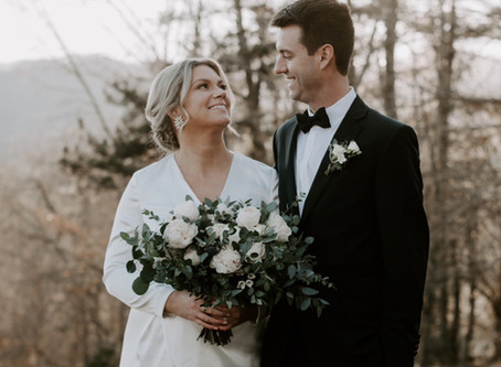 Kate & Joseph: married at The Ridge inAsheville  NC