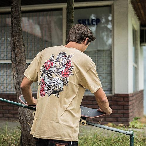 Koszulka MALITA Pin up beige