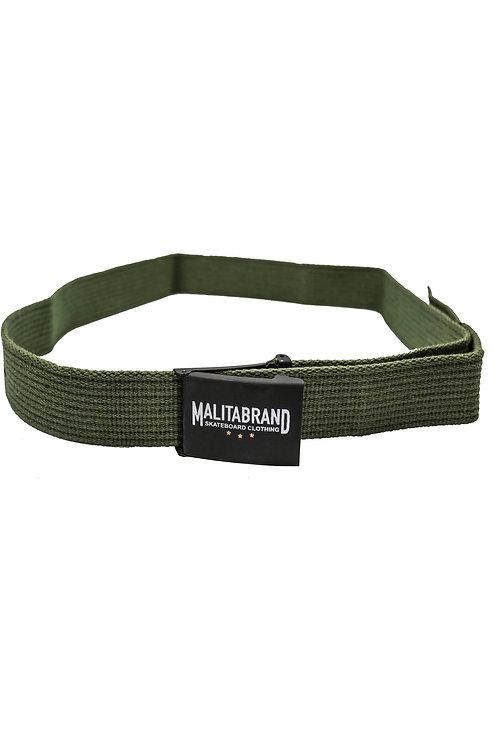 Pasek Malita Brand Stars green