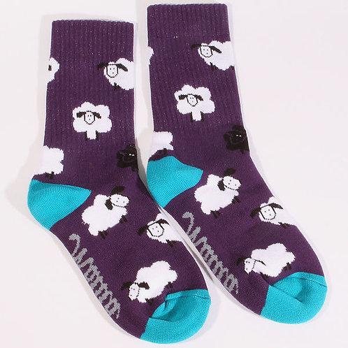 Skarpetki Malita SHEEP violet