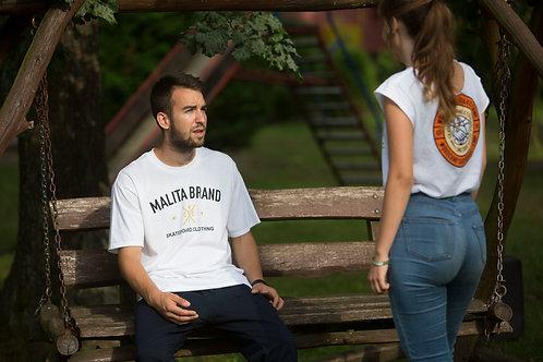 Koszulka MALITA BRAND white