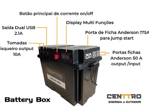 Caixa de Dual Battery simples para conexão a carregador DC/DC