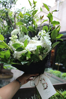 Whites & Greens Bouquet