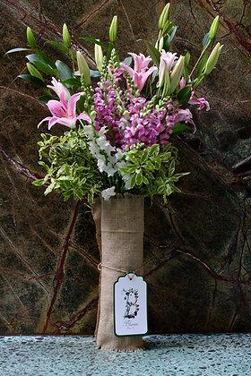 Blumm Vase Pastel &  Green