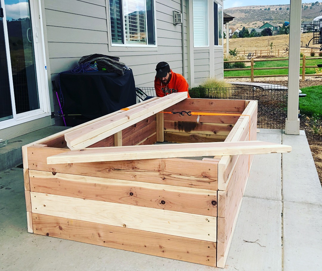 raised bed installation fort collins