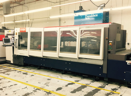 Cutters Fab Takes on Projects Large and Small with 4400kW Laser Cutter