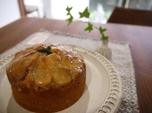 米粉のしっとりアップルケーキ