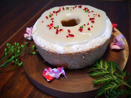 有機いちごのリングケーキ