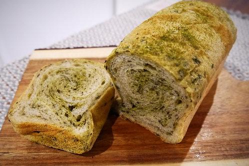 自然栽培緑茶ブレッド