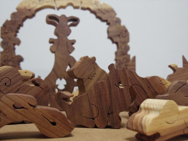 十二支のジャングル「パズル枠」スギ