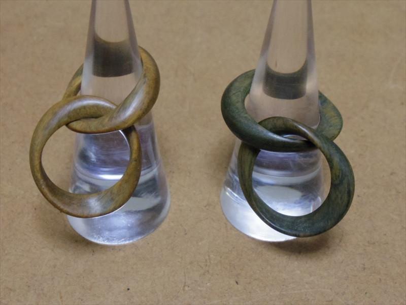 リグナムバイタ指輪