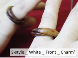 S-style _ White _ Front _ Charm'