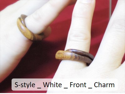 S-style _ White _ Front _ Charm