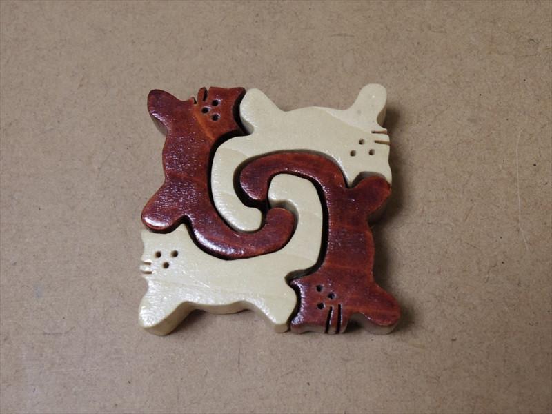 猫の箸置き、第1号