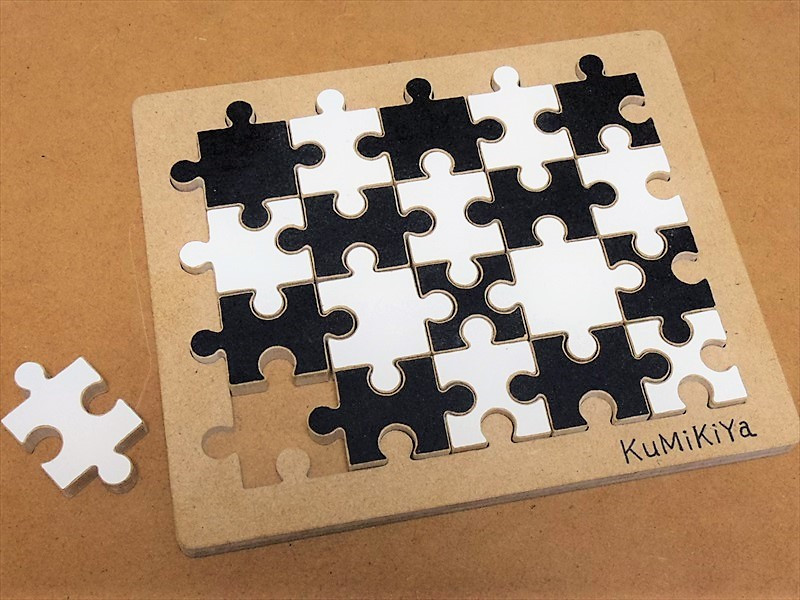 組木屋ジグソーパズル