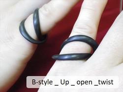 B-style _ Up _ open _twist