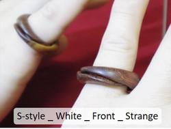 S-style _ White _ Front _ Strange