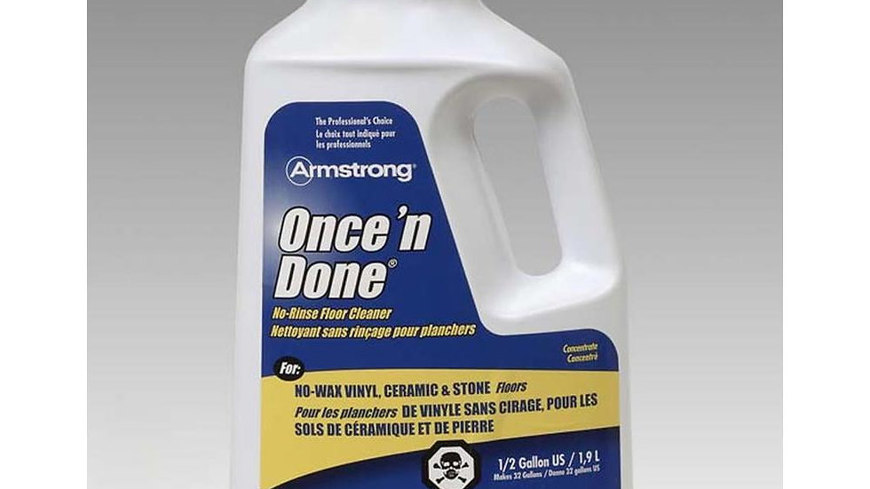 Armstrong Once'n Done 1/2 gallon
