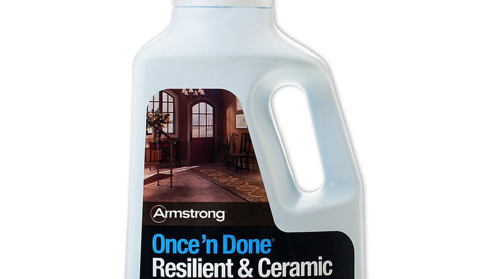 Armstrong Once'n Done Resilient & Ceramic Floor Cleaner 32 oz.