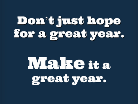 Happy New Year 2021 - Let us help you make it happen!