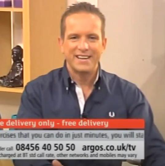 Darren Simons on TV