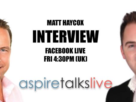 Aspire Talks Live Ep 6 - Watch Now
