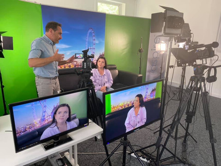 Highlights of our June 4 Day TV presenter Masterclass