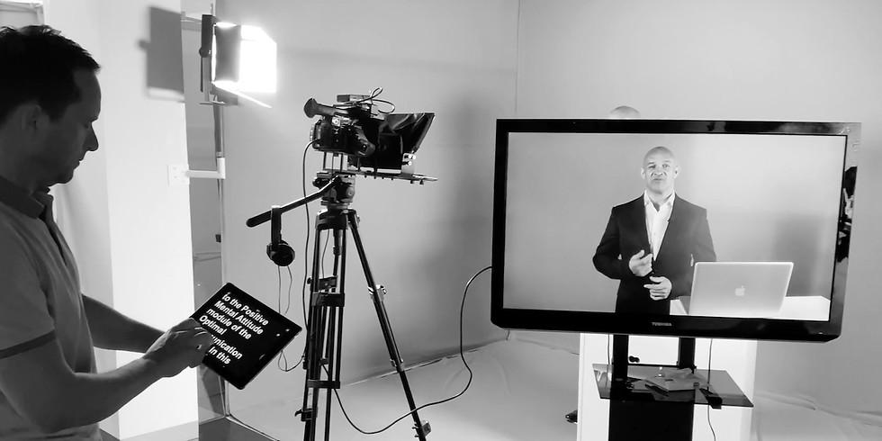 TV Presenter Training  - 4 Day Certified Masterclass