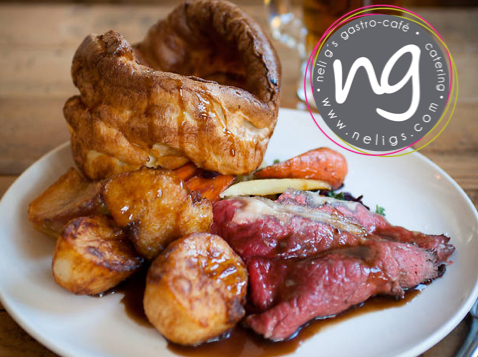Our Famous Sunday Lunch Roasts are back!