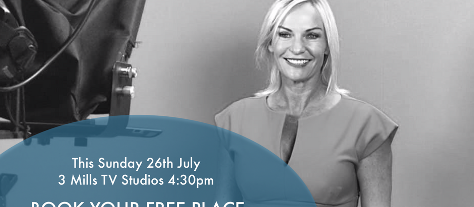 FREE OPEN DAY TV PRESENTER TRAINING THIS SUNDAY!