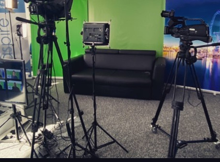 This month's TV Presenter Masterclass class launches
