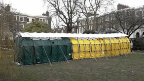 Our shelters are popping up all over!
