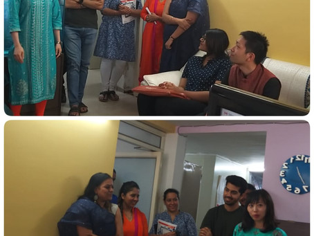 English Spoken Class for Foreign Students in Navi Mumba. India.