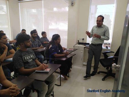 IELTS Exam Seminar conducted by British Council in Kalyan West. Mumbai