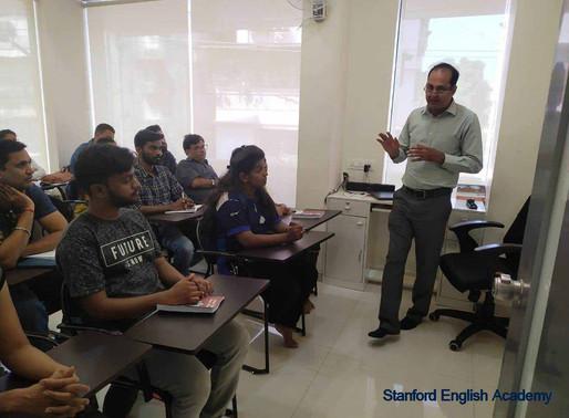IELTS Exam Seminar conducted by British Council in Kalyan West. Mumbai