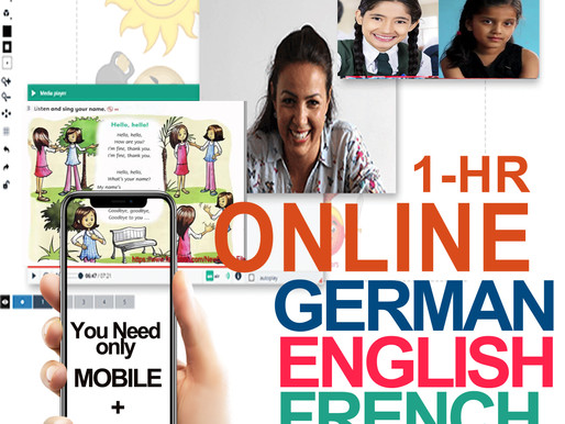 Online Conversational English and Foreign Language Course