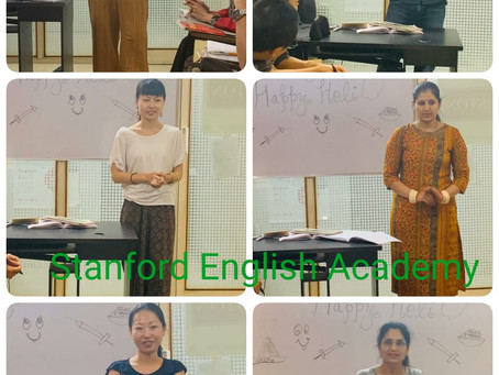 Intensive English Class at Kharghar and Kalyan West. Basic to Advance levels