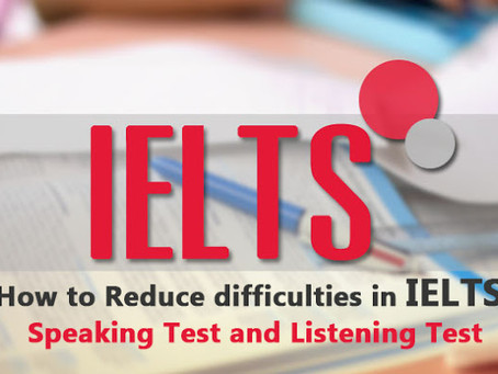 Hearing or speaking difficulties |IELTS Listening and Speaking | Online & Offline Classes Available
