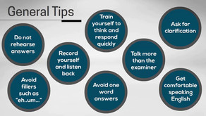 Don't memories answers IELTS Speaking Tips