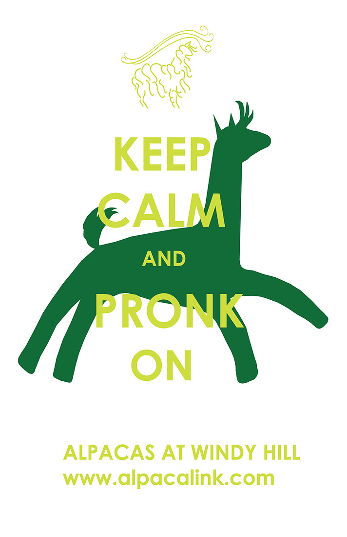 Keep Calm and Pronk On
