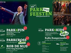 Vrijdag 1 juli speelt M&L op de Parkfeesten in Kampenhout
