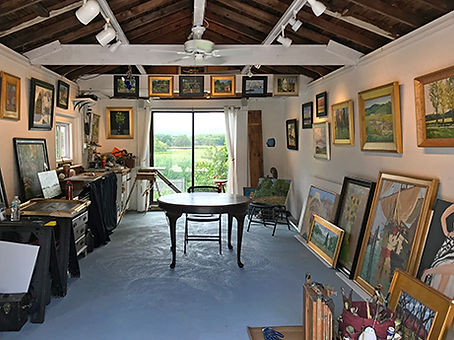 Storella Art Studio & Gallery in Essex, MA