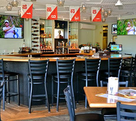 Fairway Pub at Cape Ann Golf Club in Essex, MA